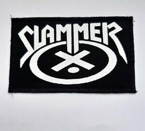 Slammer patch,thrash metal,Acid Reign,Sabbat,metallica,exodus,