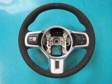 Mitsubishi Evo X Custom Padded Steering Wheel - NEW Alcantara