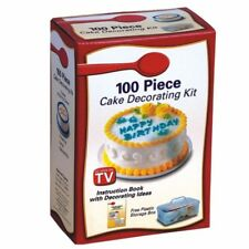 100 piece Cake Decorating Kit Decorator's delight icing