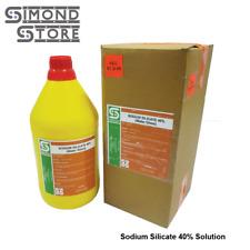 Sodium Silicate Type N Grade Liquid 1 gal. 40% Solution (Water Glass)