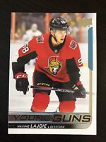 Maxime Lajoie 2018-19 Upper Deck Hockey Young Guns #223 Ottawa Senators RC