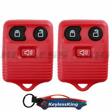 Replacement for Ford Escape - 2001 2002 2003 2004 2005 2006 2007 Remote Red