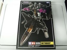 Skywarp Masterpiece Destron Warrior MP-6 Transformer Complete w/ Box