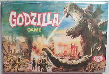 "Godzilla Board Game Box 2""x3"" MAGNET Refrigerator Locker Retro"