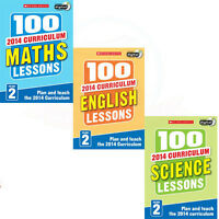 Year 2 Plan and Teach Collection 100 Lessons For The 2014 Curriculum 3 Books Set