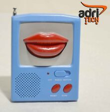 Radio radiolina FM AM portatile auto scan bocca regalo san valentino idea regalo