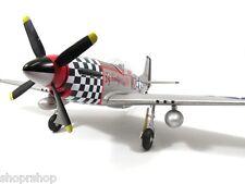 Fms 800mm P51 2nd Fly Rtf Brushless Motor Rc Jet V2 Ap16F Black New