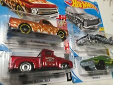 hot wheels lot KROGER - 64 BUICK,69 CHEVELL,56 FORD TRUCK,67 CHEVY C10