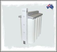HO Scale Australian 8 CELL CONCRETE GRAIN SILO