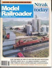 Model Railroader Magazine November 1985 Lee Nicholas' HO Utah Colorado Layout