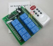 12V 8 Channel Remote Control Switch Relay 500m Transmitter reciever module