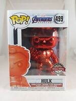 Marvel Funko Pop - Hulk (Red Chrome) - Avengers Endgame - No. 499