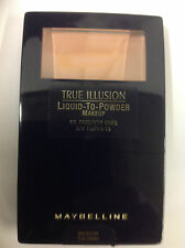 Maybelline True Illusion Liquid-To-Powder Makeup ( True Cameo ) New.