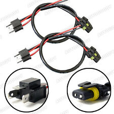 H4 9003 HB2 Wire Harness for HID Ballast to Stock Socket Connector Plug