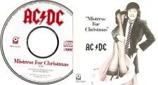 "AC/DC ""Mistress For Christmas"" US Promo CD"