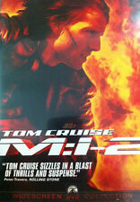 Mission: Impossible II (DVD, 2000) Tom Cruise Ving Rhames