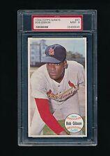 1964 Topps Giants #41 Bob Gibson PSA 9 MINT St. Louis Cardinals