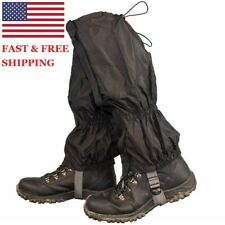 Waterproof Gaiters Leg Nylon Cover for Outdoor Hiking Walking Climbing Snow USA
