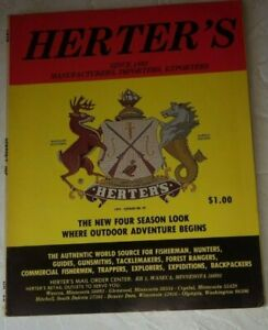 VINTAGE 1979 HERTER'S HUNTING - FISHING CATALOG # 89
