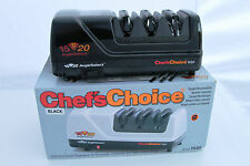 Chef's Choice Pro 1520 Electric Knife Sharpener Black 00504 NS