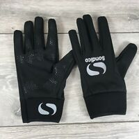 Sondico Players Thermal Football Gloves Mens Size Large Black T321-8