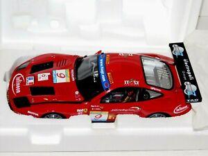 FERRARI 575 GTC TEAM J.M.B. #9 ESTORIL 2003 PETER BABINI KYOSHO 08393B 1/18