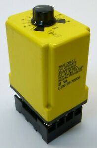 Potter & Brumfield CDB-38-70006 Time Delay Relay, Delay on Operate, 0.3-30 sec