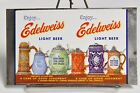 EDELWEISS LIGHT BEER TIN CAN FLAT NEVER ROLLED