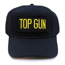 US NAVY TOP GUN Military Patch Baseball Adjustable Snapback Cap Hat - TGSN - ALL