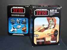 Vintage Star Wars Return of the Jedi AST-5 Armored Sentinel Transport w/box 1983