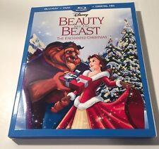 Disney's Beauty and the Beast The Enchanted Christmas Blu-ray/DVD - No Digital