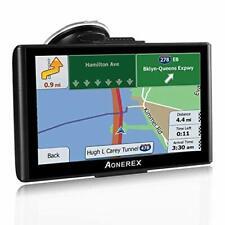 Sat Nav for Car,7 inch HD Screen GPS Navigation for Car Truck, Postcodes, POI,