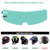 Helmet Lens Patch Film Clear Nano Coating Anti-Fog Rainproof Motorcycle Visor