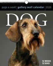 2020 Dog Page-A-Week Gallery Wall Calendar by Workman Calendars 9781523506941