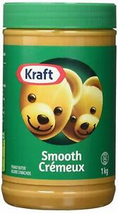 Kraft Peanut Butter Smooth, 1 Kg/35oz., {Imported From Canada}