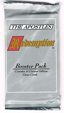 Redemption Booster The Apostles - 3 booster packs, New, unopened. Collect/Play.