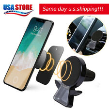 Magnetic Car Mount Air Vent Stand GPS Cell Phone Holder iPhone X 8 7 Plus