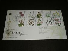 2009 GB Stamps PLANTS First Day Cover TALLENTS HOUSE Cancels - FDC