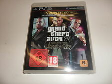 PlayStation 3 ps3 Grand Theft Auto IV & episodes from Liberty City comp USK 18
