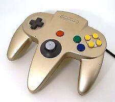 Nintendo Original Factory 64 Gold Controller Toys R US OEM 045496860622