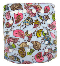 Modern Reusable Washable Baby Cloth Nappies Cloth Diapers & Insert, Brids