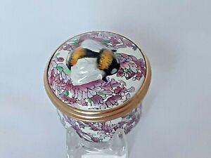 Halcyon Days Bee On Lavender Bonbonniere Box
