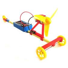 Handmade Model Scientific Rennwagen DIY Spielzeug Experiment Kit Wind Power