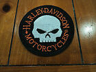 Harley Biker Skull Patches Embroidered Cloth Applique Badge Iron Sew On