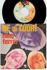 NINO FERRER Re di cuori Un giorno come un'altro 45rpm 7' + PS 1970 ITALY VG+