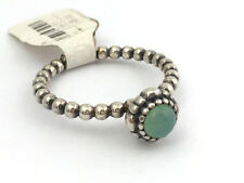 Authentic Pandora Birthday Blooms May Chrysoprase Ring Sz 8, 190854CH-58, New