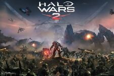 HALO WARS 2 ~ BATTLE 24x36 VIDEO GAME POSTER XBOX 360 NEW/ROLLED!