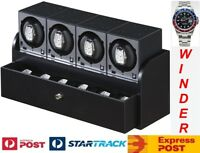 "Genuine""Boxy"" Brand Brick Automatic Watch Winder System for Four Watches - (4B4)"