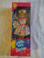 NEW in Box 1994 Birthday Party Barbie Mattel 18651 Special Edition