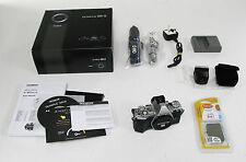 Olympus OM-D E-M5 Mark II SILVER digital camera BODY Mk 2 - (REF339)